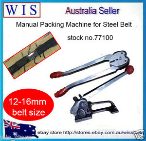 12mm –16mm Steel Strapping Tensioner&Crimper Sealer,Manual Packing Machine-77100