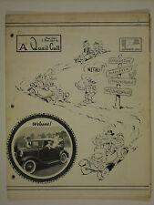 September 1963 A Quail Call Penn-Ohio Ford Model A Inc. Club Magazine