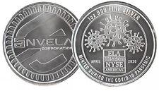 2020 CovidVirus 1 oz .999 Fine Silver Coin Art Round Envela - Bullion