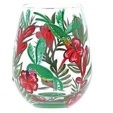 Lolita 6001313 Hummingbird Bird Stemless Wine Glass