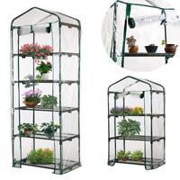 3-Tier Portable Greenhouse PVC Cover Plant Garden Green House Cover