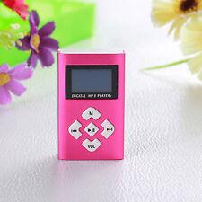 REPRODUCTOR LECTOR MP3 PLAYER ALUMINIO MINI USB MICRO SD 8GB CASCOS LCD Screen