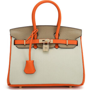 100% Genuine Leather Women's Elegant Handbag Satchel Tote Crossbody shoulder Bag