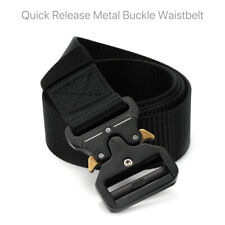 Men Recreational Military Tactical Army Adjustable Quick Release Belt AU