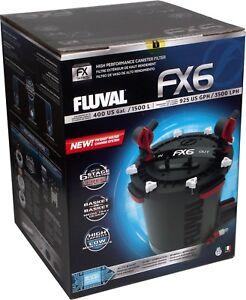 Fluval FX6 External Filter - CANISTER AQUARIUM - FISH - MARINE - TROPICAL - NEW