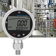 Digital Hydraulic Pressure Gauge 400bar 0 40mpa 10000psi With 4 Connector