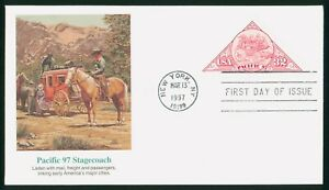MayfairStamps US FDC Unsealed 1997 Pacific 97 Stagecoach Fleetwood First Day Cov