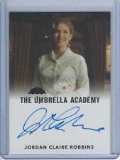 Umbrella Academy Autograph Card Jordan Claire Robbins as Grace
