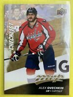 2017-18 Upper Deck MVP Hockey Checklist #230 Alex Ovechkin Washington Capitals