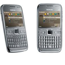 "Gray Original Unlocked 2.4"" Nokia E72  Cellphone MP3 Player 5MP Camera 3G QWERTY"