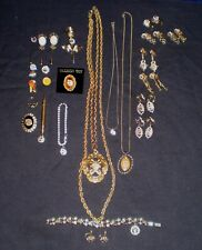 Lot of Rebekah IOOF Jewelry 26 Pieces Including a Black Onyx Ring w/Colored Embl