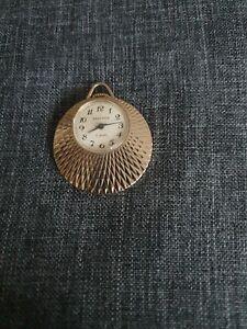 Vintage Sekonda USSR Mechanical Classy Watch Pendant 17 jewels