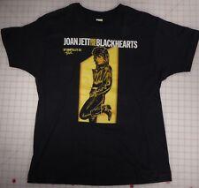 Joan Jett & the Blackhearts Up Your Alley 1988 Womens XL Black T-Shirt RARE