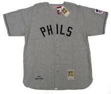 1942 Chuck Klein #3 Phillies 2XL (52) Mitchell & Ness Authentic Wool Jersey