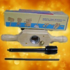 """Wood Tap & Die Thread box & Tap 1-1/ 4"""" x 6 tpi 800-1020"""