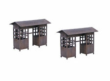Japan Yatai Stall Set 2 SAMURAI/ JAPANESE 28mm Laser cut MDF scale Building B024