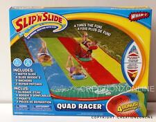 SLIP N SLIDE WHAM O QUAD RACER 4.8 M + 4 SLIDE BOOGIES BRAND NEW AGES 5 TO 12