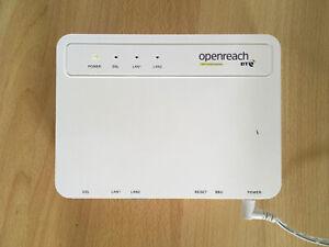 Huawei EchoLife HG612 3B VDSL modem - BT Openreach