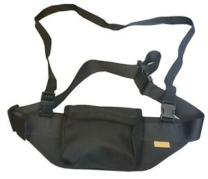 Waistband Bag for Outdoor Sports Heavy Duty Ogden Shooting Brand coloured Black
