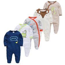 5pcs Sleepers Baby Pyjamas Newborn Girl Boy Pijamas Bebe Fille Cotton Breathable