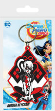 DC Super Hero Girls (Harley Quinn) Rubber Keychain