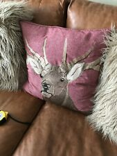 Laura Ashley Reindeer/Deer Cushion Cover