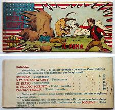 Striscia IL PICCOLO SCERIFFO IIª Serie N 63 TORELLI 1953