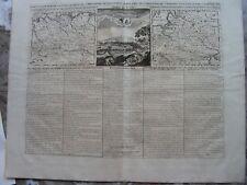 NORWEGEN, POLEN, DEUTSCHLAND  Kupferstich CHATELAIN um 1720