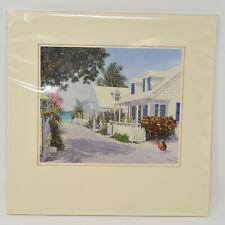 "Eddie Minnis Princess Street Bahamas Art Print Matte New 12"""