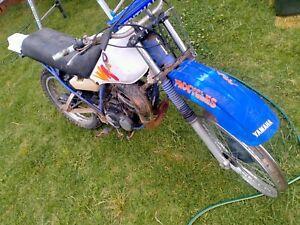 Yamaha DT175 (83 to 04) FRONT MUD GUARD. (WRECKING BIKE(