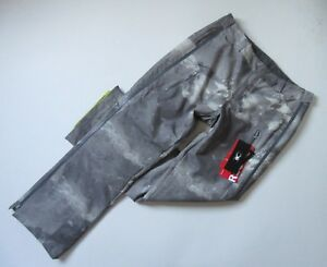 NWT Spyder Empress in Gray Print Full Zipper Insulated Snow Ski Pants 18 - L