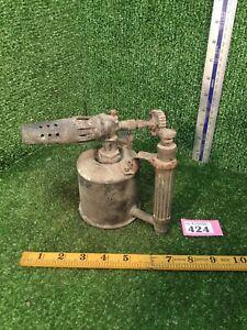 Vintage Original Max Sievert Blow Torch / Blow Lamp