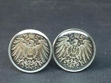 Germany Empire coin cufflinks 20mm.