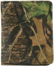 Mossy Oak Break Up Camo Leather Front Pocket Wallet W Magnetic Money Clip Webers