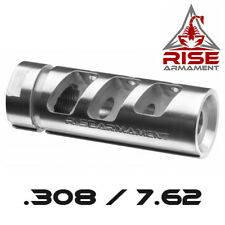 Rise Armament Stainless Steel RA-701 Compensator / Muzzle Brake for 7.62/308