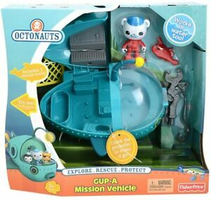 Fisher-Price Octonauts Gup-A and Barnacles Mission, Children's Vehicle Playset