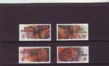 VATICAN - SG1393-1396 MNH 2003 ANIMAL PAINTINGS FROM VATICAN BASILICA