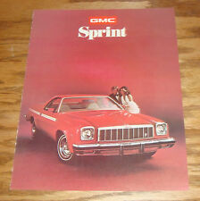 Original 1975 GMC Sprint Sales Brochure 75