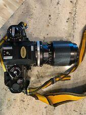 Mint Nikon Fa 35mm Slr film camera with 5 lenses, accessories, paperwork