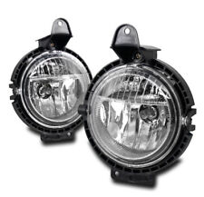FOR 2007-2015 MINI COOPER FRONT BUMPER DRIVING CHROME REPLACEMENT FOG LIGHT LAMP