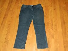 Women's Coldwater Creek Natural Fit Jeans (Dark Blue) Size-6P