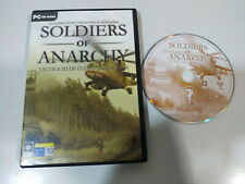 Soldiers of Anarchy Tactica 3D - JUEGO PARA PC CD-ROM Manual ESPAÑOL