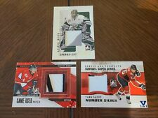 In The Game Hockey (5) Card Lot (Jersey/Patch/Auto)