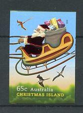 Christmas Island Australia 2016 MNH Father Christmas 1v S/A Set Birds Stamps