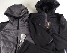 Michael Kors Down Feathers Insulated Hooded Coat Mixed Media Jacket NWT $199 MK
