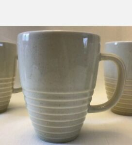 SET OF 3 Pfaltzgraff CAPPUCCINO 12-oz Mugs Cups Excellent Condition