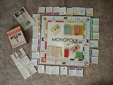VINTAGE MONOPOLY GAME 1935..PATENT 2.02.082  #W/BOARD & ORIG.GAME PCS.