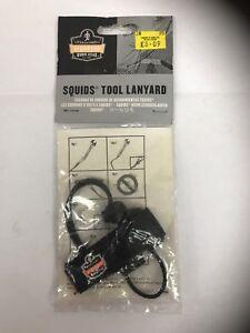 Squids 3115 Adjustable Wrist Tool Lanyard, Large/X-Large, Black