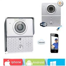 Videocitofono WiFi Wireless Telecamera infrarossi 6 led campanello videocitofoni
