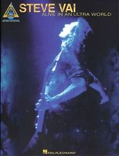 Steve Vai Alive In An Ultra World Learn to Play Pop Rock Guitar TAB Music Book